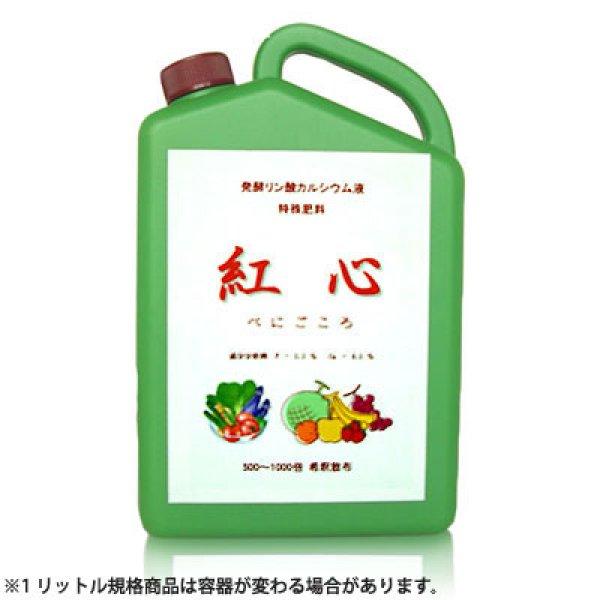 画像1: 紅心 (べにごころ) [ 発酵リン酸カルシウム液肥 ] (1)